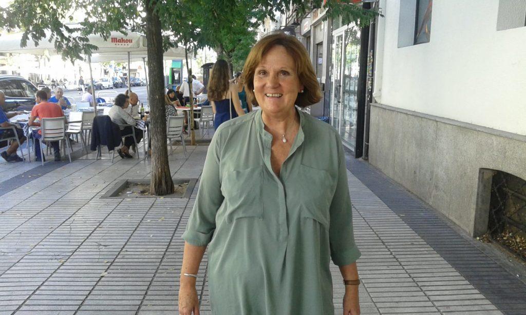 """Foto de archivo de Eliezer Bordallo, autora de """"No hay estrellas en Madrid"""""""