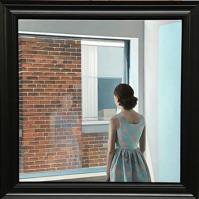 Imagen que refleja como está Grace, la protagonista del libro Al cerrar la puerta
