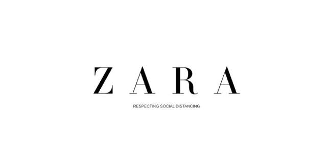 Logo de Zara modificado