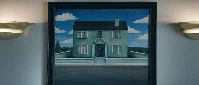Autorreferencia en un cuadro, aromas de Magritte y Escher