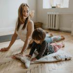 Ejercicios para hacer con los niños en casa