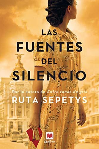 Portada de la novela Las fuentes del silencio de Ruta Sepetys