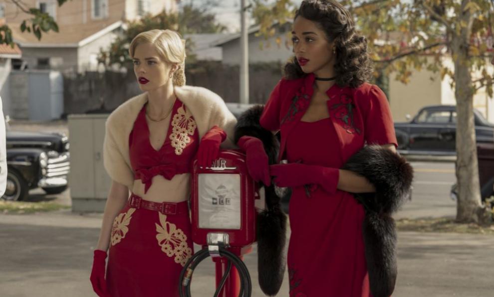 Laura Harrier y Samara Weaving son las protagonistas femeninas de Hollywood