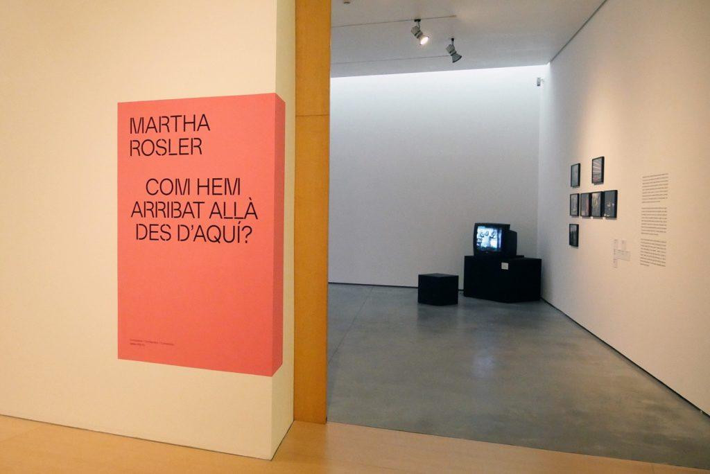 Exposición Martha Rosler