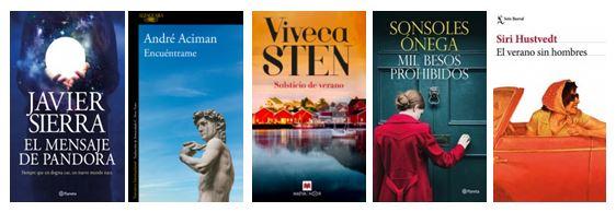 Novedades literarias que verán la luz el mes de junio