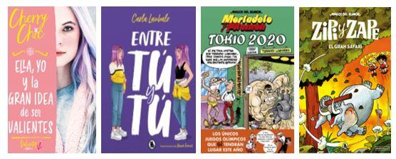 Títulos que se publicarán en junio 2020