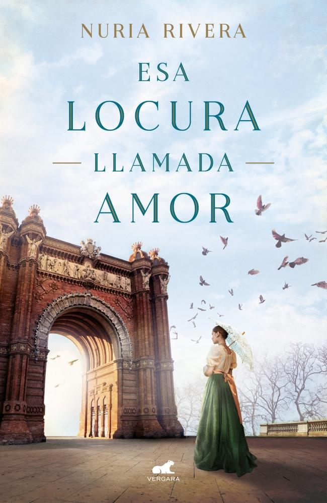 """Portada de la novela """"Esa locura llamada amor"""" de Nuria Rivera"""
