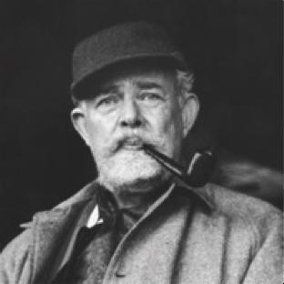 """Foto de T.H. White, autor de """"El rey que fue y será"""""""