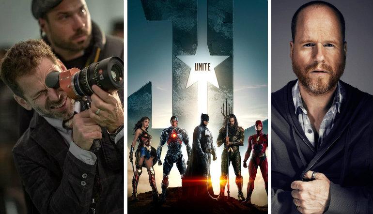 Zack Snyder Joss Whedon Justice League RedLanComics