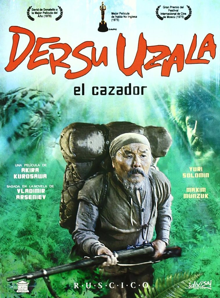 Cartel de Dersu Uzala