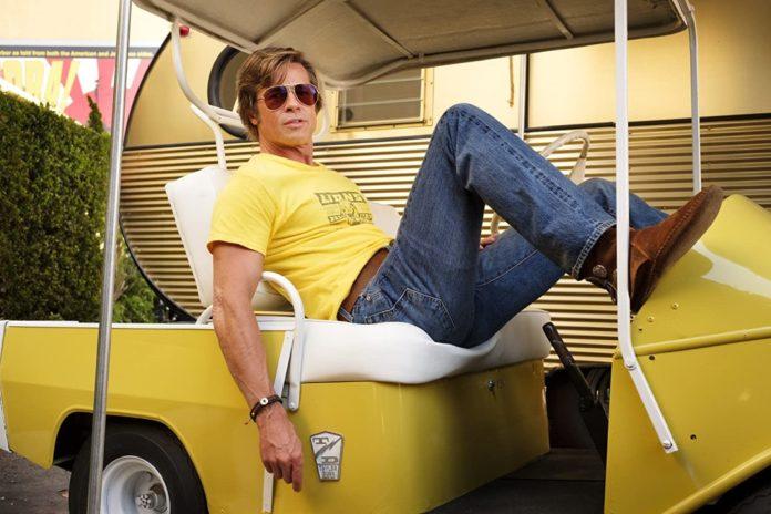 Brad Pitt en Erase una vez en Hollywood