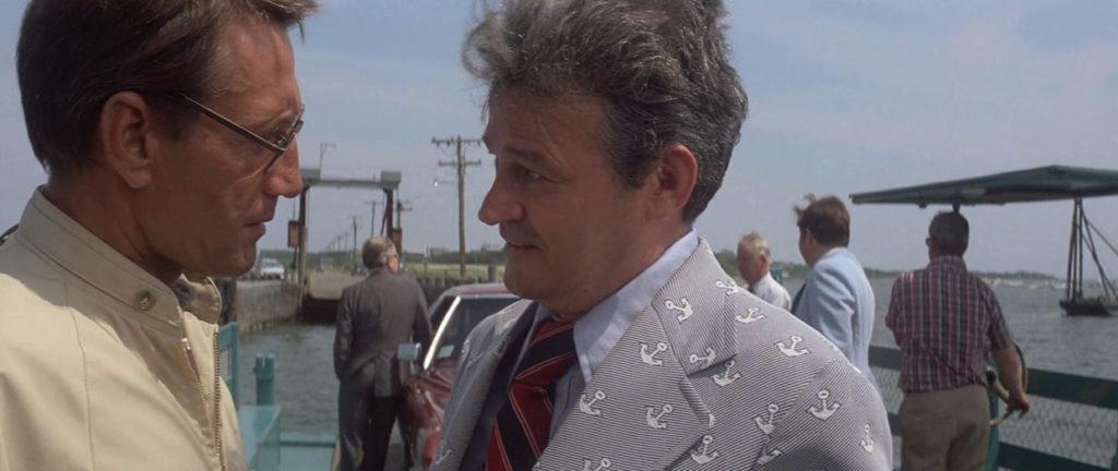 El alcalde presiona a Brody en el transbordador