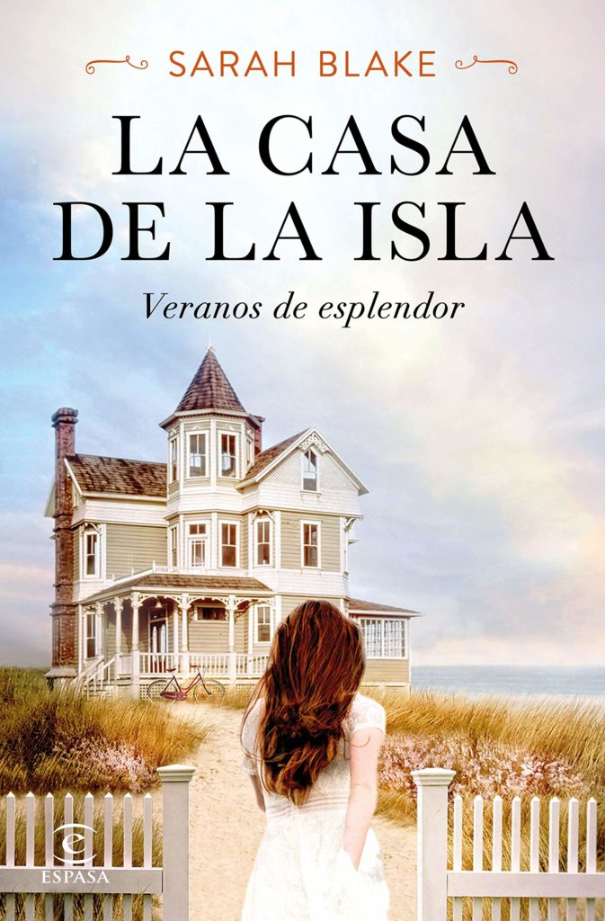 "Portada de la novela ""La casa de la isla"" de Sarah Blake"