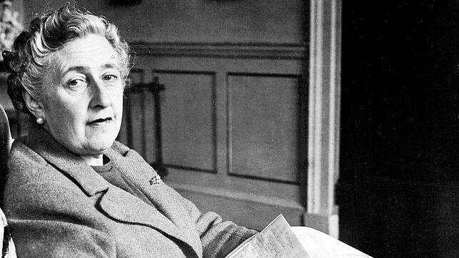 foto de archivo de Agatha Christie, autora de novelas enigma al igual que Ana Gomila