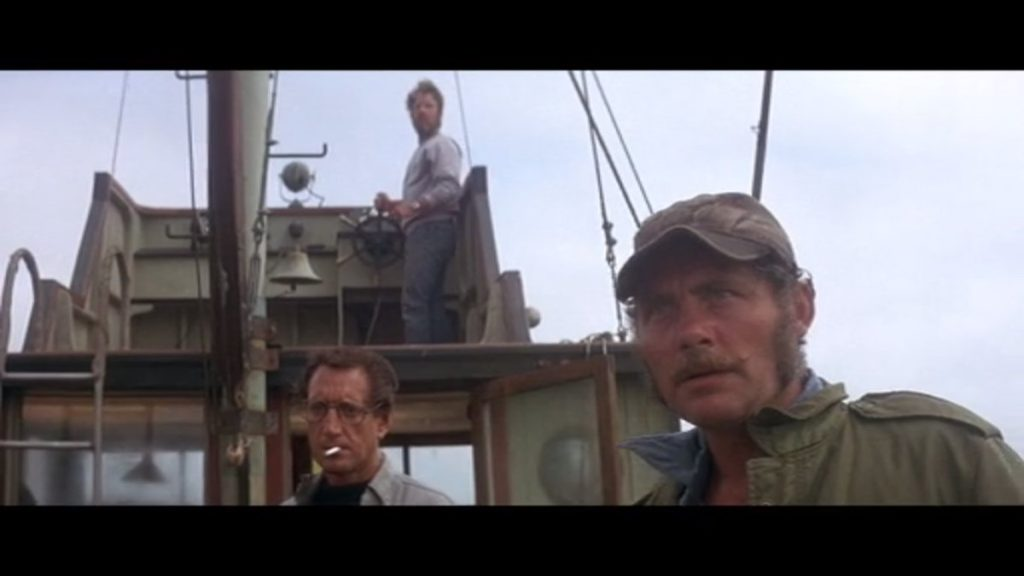 Brody, Hooper y Quinn contra el tiburón