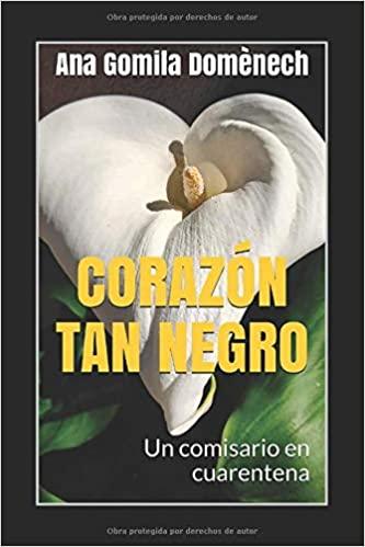 """Portada del libro """"Corazón tan negro"""" de Ana Gomila"""