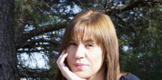 Foto de archivo para la entrevista de la escritora María Martínez,