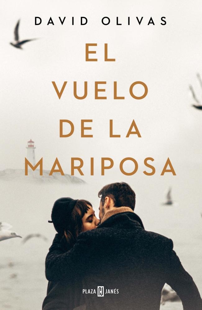 """Portada de la novela """"El vuelo de la mariposa"""" de David Olivas"""