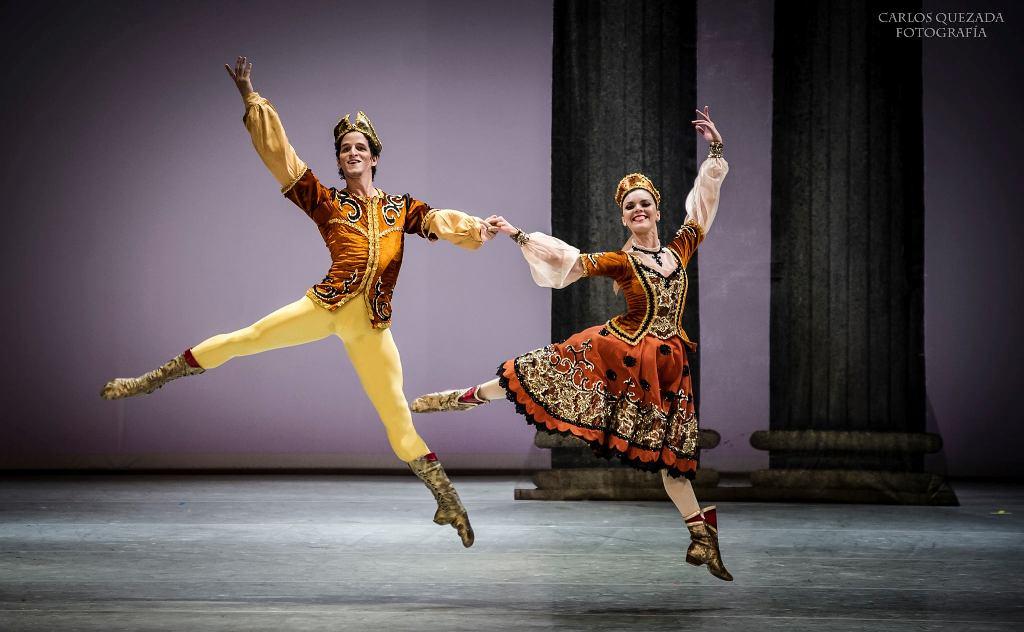 El ballet A Suite Of Dances