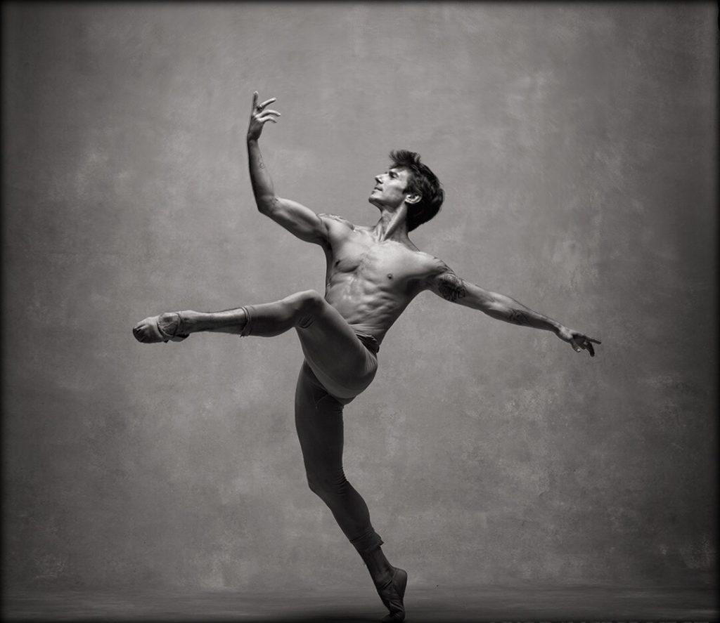 El bailarín español Joaquín de Luz