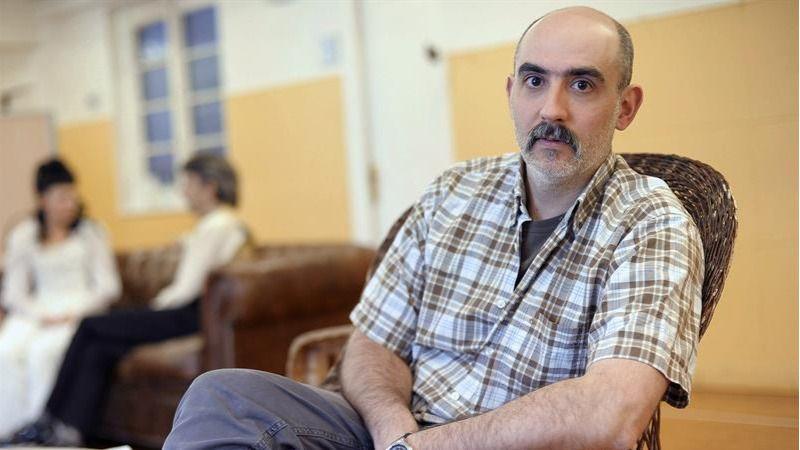 El dramaturgo Alfredo Sanzol, coautor de La conmoción