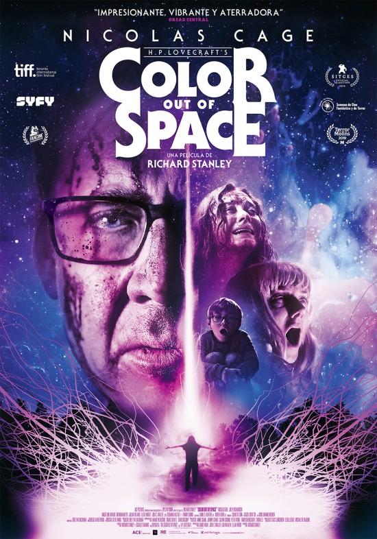 Cartel de Color out of Space, 7 estrenos de a contracorriente films