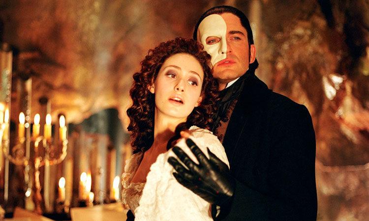 El Fantasma de la ópera, de Joel Schumacher