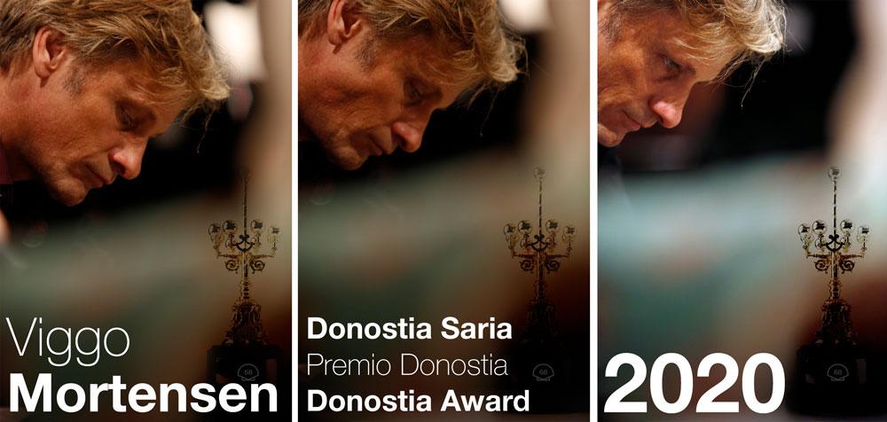 Premio Donostia a Viggo Mortensen por su trayectoria