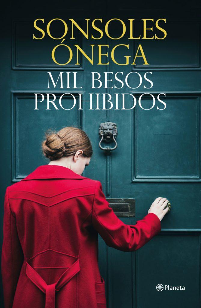 Portada de la novela de Mil besos prohibidos de Sonsoles Ónega