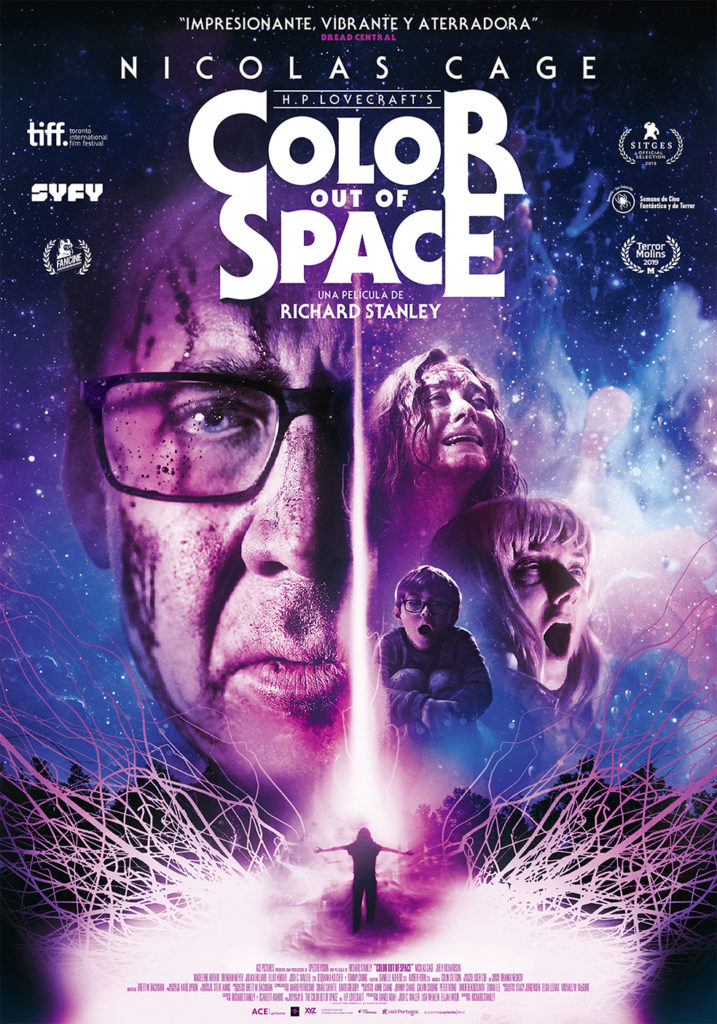 Cartel de The color ouf of Space