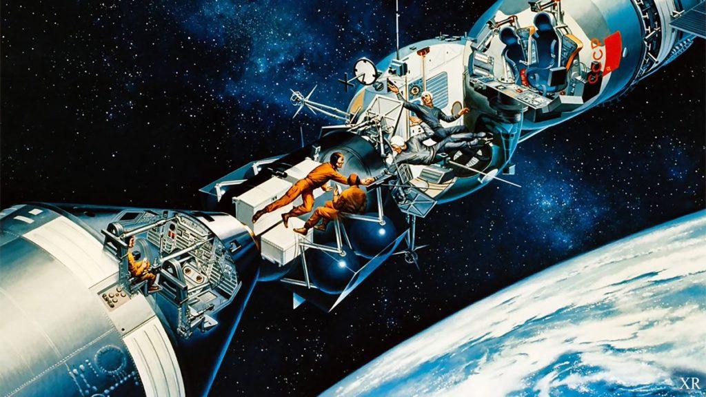 Esquema de la operación Soyuz Apollo