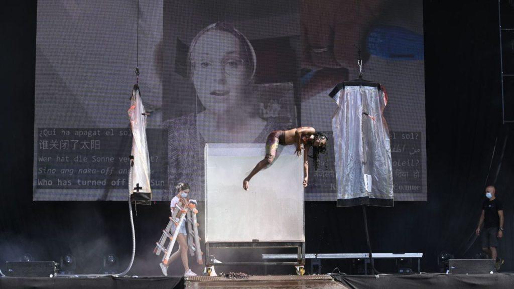 El objetivo del nuevo show de La Fura dels Baus es concienciar a la sociedad de la necesidad de un cambio profundo