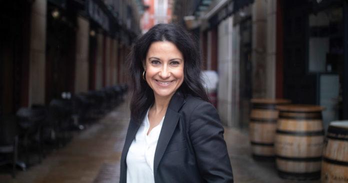 Foto de archivo de Sylvia Herrero para la entrevista en Fanfan sobre la trilogía de Santa Manuela
