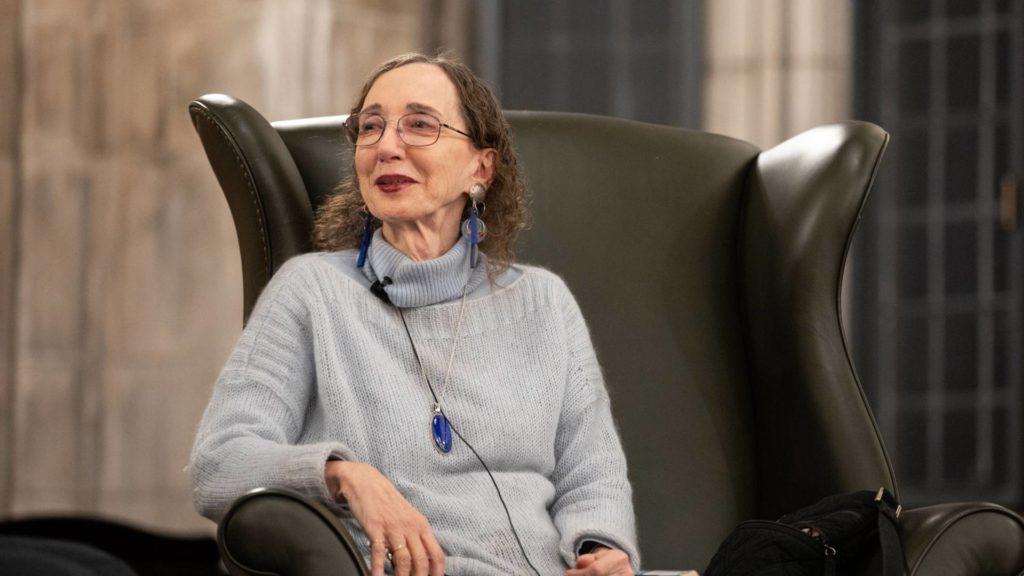 Joyce Carol Oates, autora de Persecución