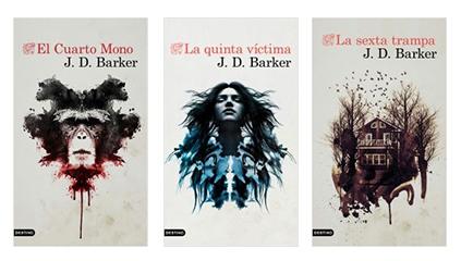 El cuarto mono, La quinta víctima y La sexta trampa, trilogía completa.