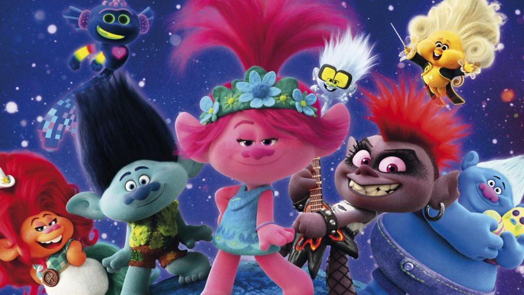 Trolls 2 disparó la polémica entre AMC y Universal