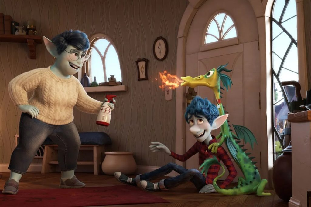 Laurel (la madre), Ian y el dragón mascota