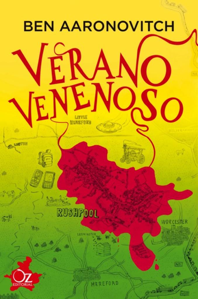 """Portada de """"Verano Venenoso"""" sin duda una estupenda lectura veraniega para los más pequeños"""