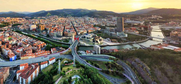 Foto de archivo de Bilbao para la reseña de La ciudad del alma dormida de Félix G.Modroño