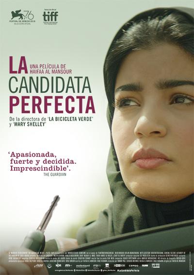 Cartel de La candidata perfecta