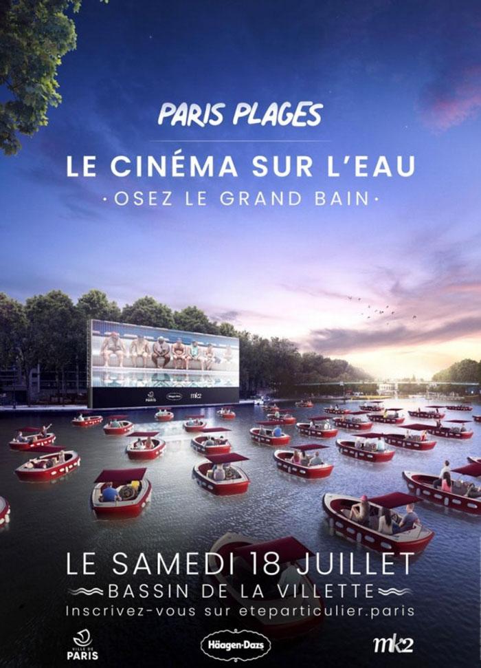 Paris Plages arranca con cine fluvial