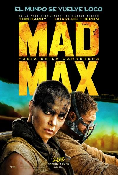 Cartel de Mad Max: Furia en la carretera