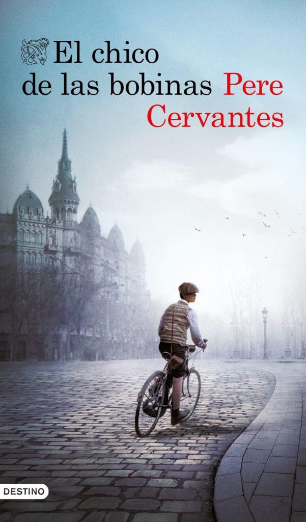 """Portada de """"El chico de las bobinas"""" de Pere Cervantes"""