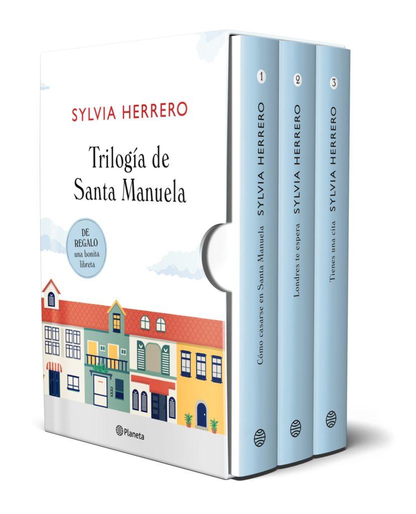Pack de La trilogía de Santa Manuela de Sylvia Herrero