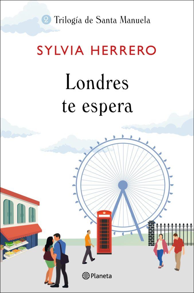 Portada de Londres te espera, la segunda parte de la trilogía  de Sylvia Herrero