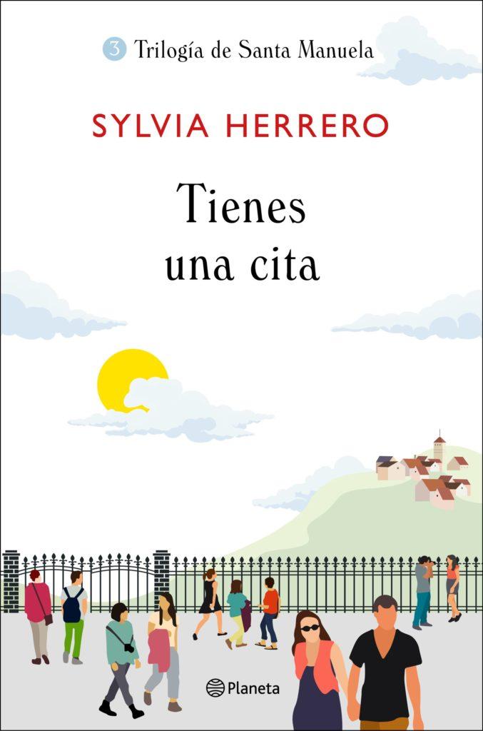 Portada de Tienes una cita, la tercera parte de la trilogía  de Sylvia Herrero