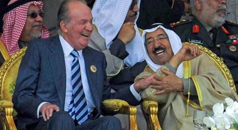 Juan Carlos I, el rey de Arabia y una crisis de reputación - FANFAN