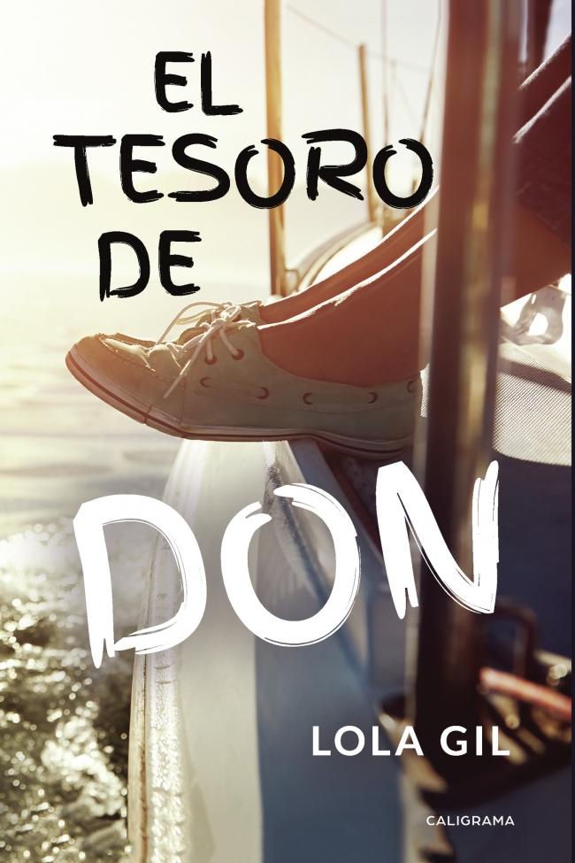 Portada de El tesoro de Don, la novela de Lola Gil