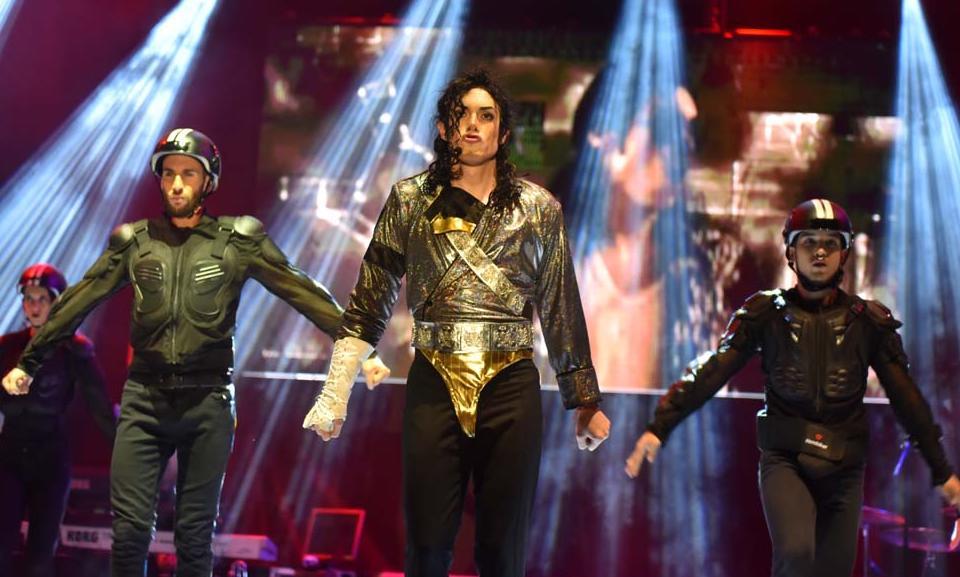 El espectáculo reproduce con gran fidelidad el repertorio de canciones de Michael Jackson