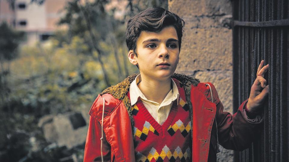 Salvatore, el pequeño de los Gianmarresi